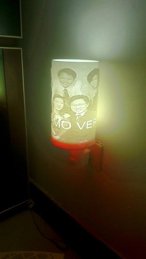 壁燈與小夜燈的創作嘗試