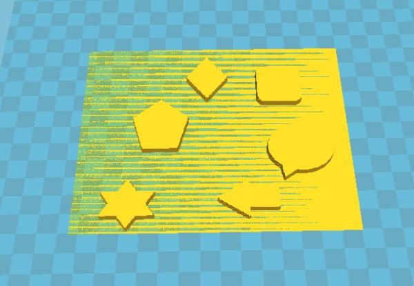 3D 列印七巧板